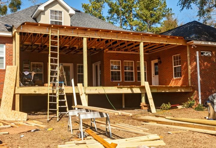 Backyard Deck Reconstruction
