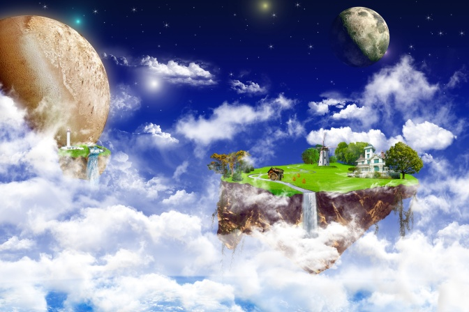 Fantasy world.