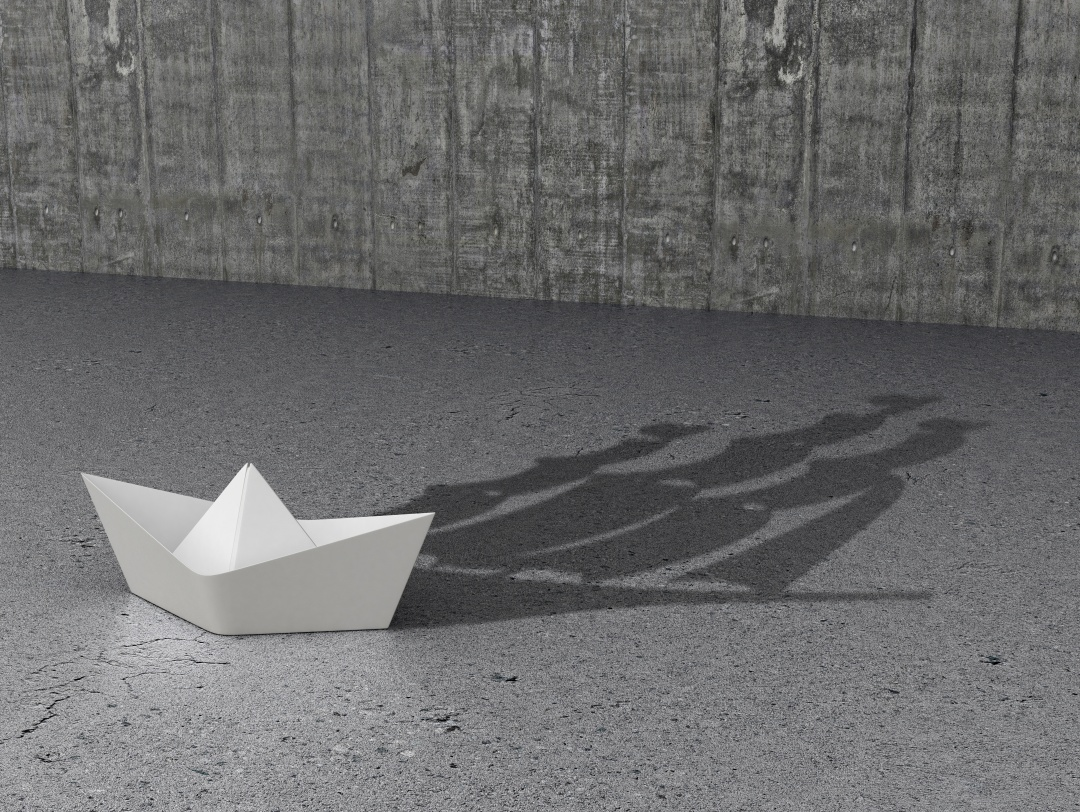 Concept Development and hidden features. Paper Boat which casts